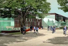 Lilley Centre, Wilson Architects, Brisbane, Australia, 2010 (draft proposal: Competition Renders)