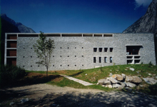 Casa delle guide alpine, act_romegialli, Val Masino, Italy, 2000 (work facts)
