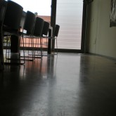 light reflection on the floor-side window (conference room) © Ellina-Kyrisavva 2012