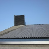 roof and relationship to the ventilation system