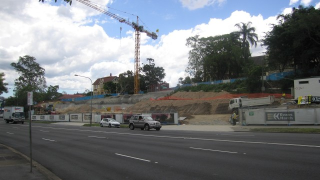 Lilley Centre, Wilson Architects, Brisbane, Australia, 2010 (Building Site: Construction- December 2008 to May 2009)