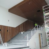 Stair Case From Learning Commons to Lower Level ©Wilson Architects October 2009