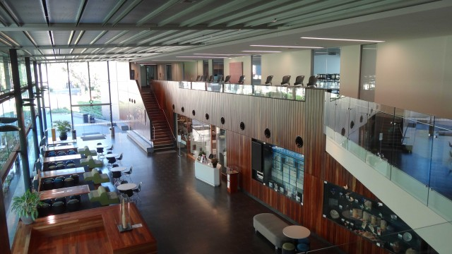 Lilley Centre, Wilson Architects, Brisbane, Australia, 2010 (Photo Gallery Interiors: Serving Spaces- Corridors/ Access Rooms/ Foyer)