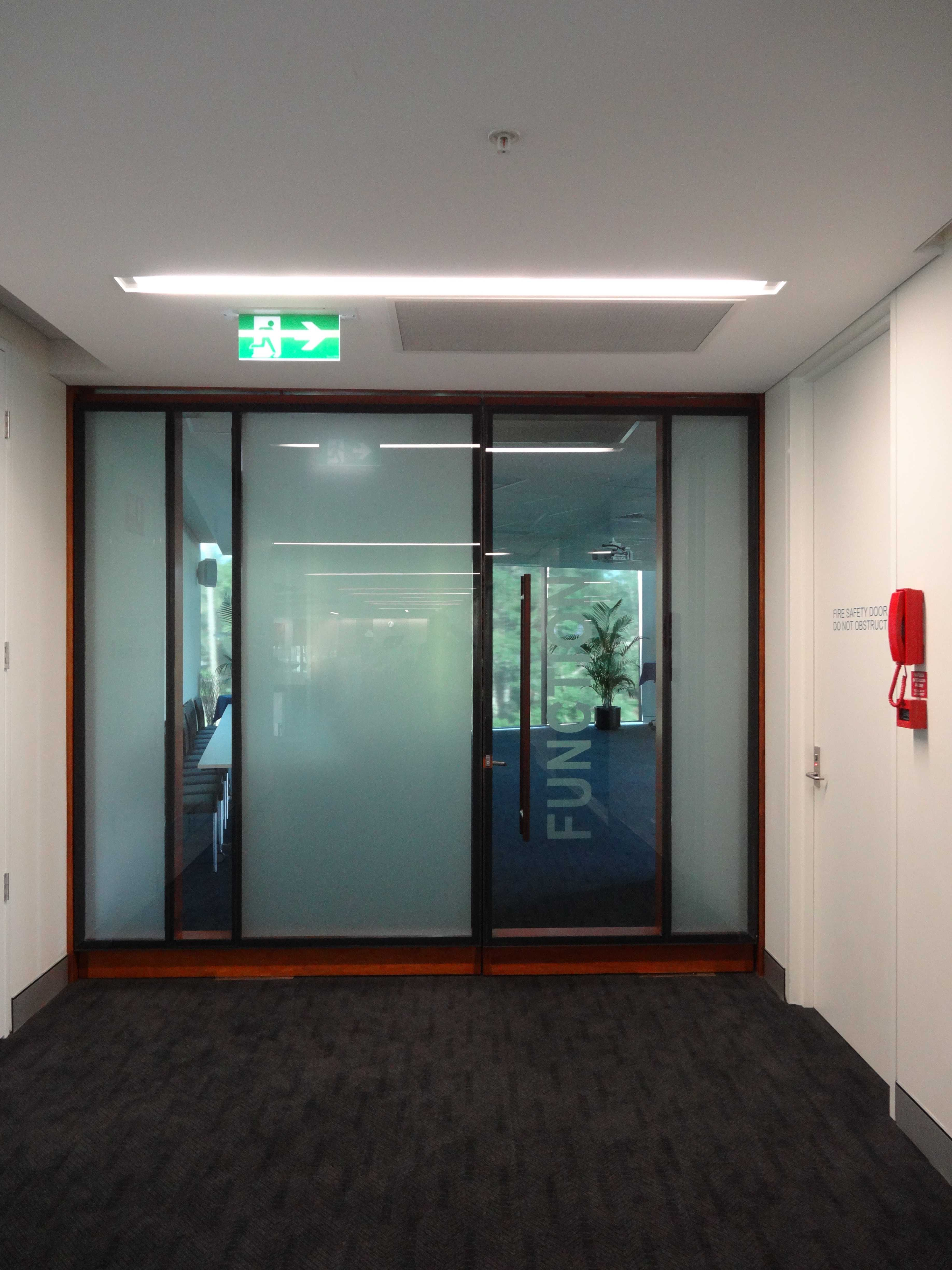 Function Room Door ©Gregory Howes & Lilley Centre Wilson Architects Brisbane Australia 2010 ...