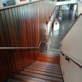 Stairs from Level 1 to Learning Commons ©Gregory Howes