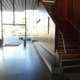 Stairs from  Learning Commons to Level 1©Gregory Howes
