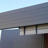 Sun Shielding System Along the Northern Facade  ©Gregory Howes