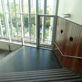 Stairs from Learning Commons to Lower Level ©Gregory Howes