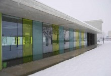Cortenuova Sports Centre, PBEB Architetti, Cortenuova (BG), Italy, 2009 (photo gallery exteriors)