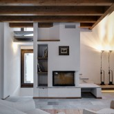 The fireplace -  Ground floor ©Marcello Mariana
