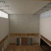 Main Space showing ceiling