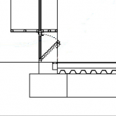 lower window lever for passive cooling