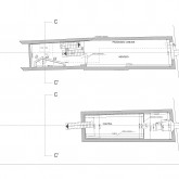 the basement and the first floor plan © Studio A4
