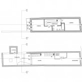 the second and third floor plan © Studio A4