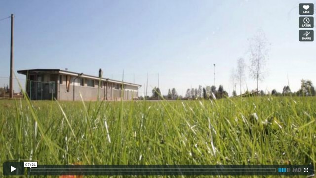 Cortenuova Sports Centre, PBEB Architetti, Cortenuova (BG), Italy, 2009 (video)