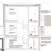 section C-C construction drawing (with materials)© Studio Ortalli 2005
