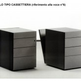 construction of furniture-drawer for offices© studio Ortalli 2005