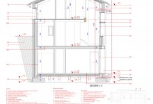 Casa UP, Enrico Scaramellini, Madesimo – Frazione Isola (SO) (Proposal - drawings: sections)