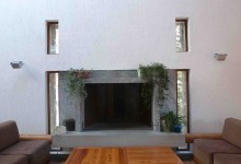 Casa delle guide alpine, act_romegialli, Val Masino, Italy, 2000 (heating/conditioning)