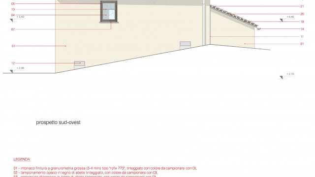 Casa UP, Enrico Scaramellini, Madesimo – Frazione Isola (SO) (Proposal: prospects - drawings)