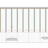 front elevation(south-east) construction drawing© Studio Ortalli 2005