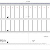 section A-A construction drawing© Studio Ortalli 2005