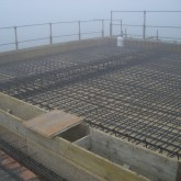 formwork to build the second floor © Andrea Oliva 2007