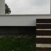 external stairs in corten © Erika Mazza 2012
