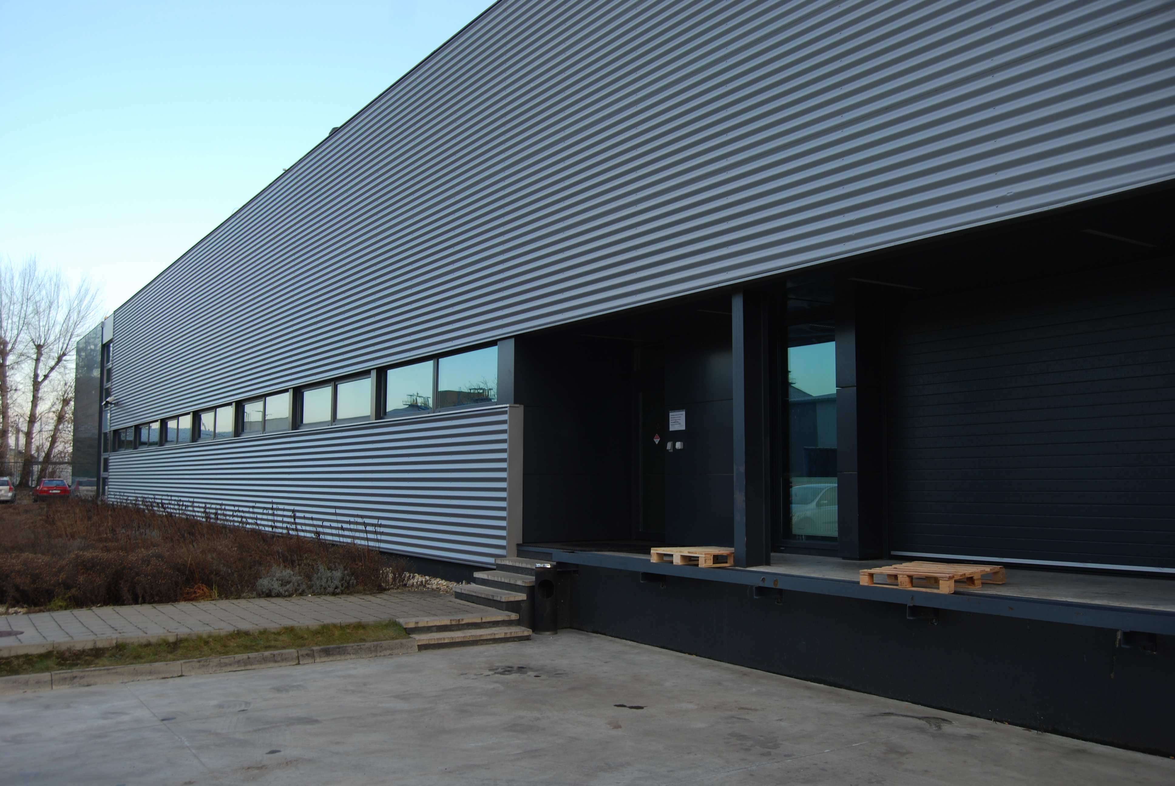 Corrugated Metal Panels Facade Wwwimgkidcom The