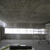 construction of ground floor© studio Ortalli 2009