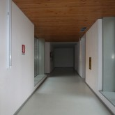 first floor corridor made by concrete © andré gonçalves 2012