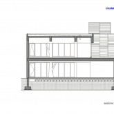 vertical structure view in section © lgb-architetti 2004