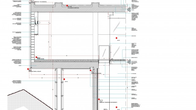 Cultural Centre, DAP Studio&Paola Giaconia, Ranica, Italy, 2010 (construction drawings)