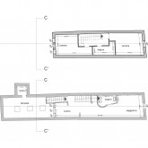 second and third floor plan © Studio A4