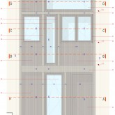 Double overlapping window - scale 1:10
