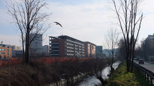 Offices in Via Zumbini, Binocle, Milano, Italy, 2008-2011 (surroundings)