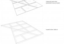 Edo's Home, Stefano Bolzoni e Guido Bonatti, Piacenza, Italy, 2010 (construction drawings: the walkable skylight)