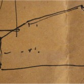 sketch of one of the first solutions