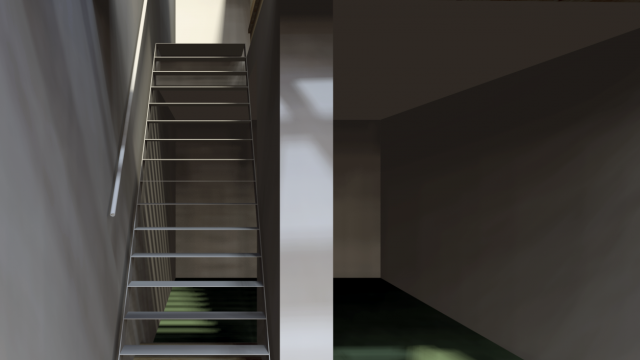 Edo's Home, Stefano Bolzoni e Guido Bonatti, Piacenza, Italy, 2010 (construction drawings: iron stairs)