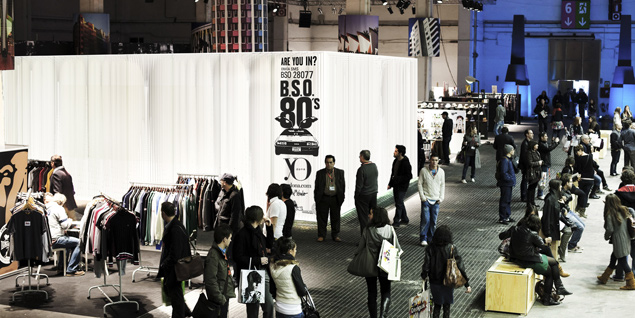 BSO stage, Quid*Studio, The Brandery-Fira Barcelona, Barcelona, Spain, 2011 (photo gallery surroundings)