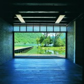 Main hall view of north to the lake © Filippo Simonetti